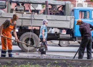 носить ремонт дороги на варваской для