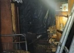 В области в пожаре погиб мужчина