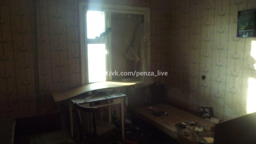 Подъезд разрушающегося дома наулице Ударной вПензе отключат откоммуникаций